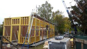 H3 houtskeletbouw duurzame materialen stationsgebouw